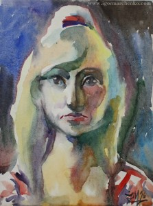 portrait_Alyona_circus_paper_watercolor1