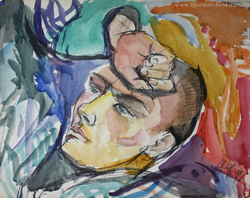 portrait_Sergeyi_Phedorov_watercolor