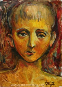 portrait_boy_paper_oil