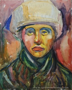 portrait_soviet_woman_watercolor