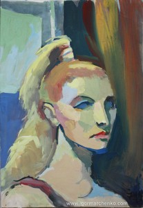 portrait_woman_gouache