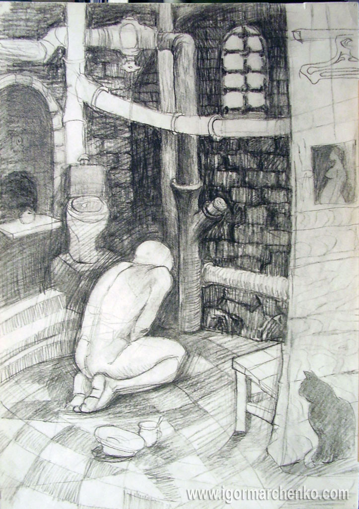 prison_basement_charcoal_pencil